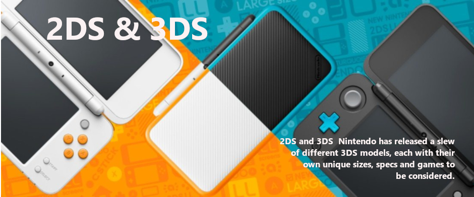 2DS and 3DS at Kutthouze.com