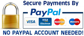 Secure Paypal Payments no account needed