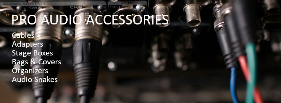Pro Audio Accessories, Cables, adapters, Stage Boxes, audio snakes,