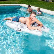 SwimWays Star Wars Millennium Falcon Ride-On Pool Float