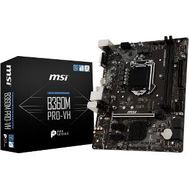 MSI B360M PRO-VH Desktop Motherboard - Intel Chipset - Socket H4 LGA-1151