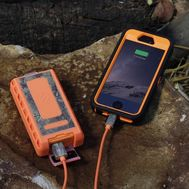 (2-Pack) Scosche Waterproof 6000mAh Portable Power Bank GoBat RPB6RT Rugged