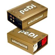 Whirlwind PCDI Direct Box with Dual RCA and 1/8 in. Inputs WW-PCDI