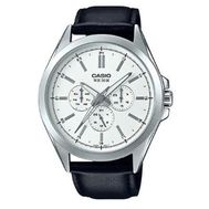 Casio - Analog Watch Black Leather