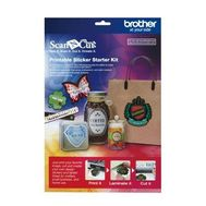 Brother Sewing - Scanncut Printable Sticker Kit