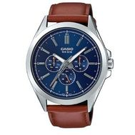 Casio - Analog Watch Brown Leather