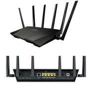 ASUS - Wireless Ac3200 Router