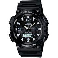 Casio - Ana Digi Solar Watch Black