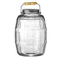 Anchor Hocking - Barrel Jar W/ Lid 2.5gal
