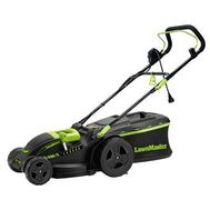 LawnMaster Electric 2-in-1 Lawn Mower, 15 Inch