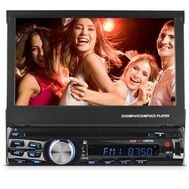 "Ematic - 7"" Dvd Receiver 52w X 4"