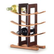Anchor Hocking - Bamboo Wine Rack Espresso Acc.