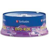 Verbatim - Dvd+r Dl 8.5gb 8x Branded 30 P