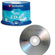 Verbatim - Cd R 52x 80mn 50pk Spindle