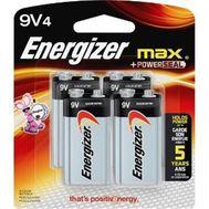 Energizer - Alkaline  9v 4 Pack