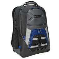 "Targus Drifter TSB933US Carrying Case (Backpack) for 15.6"" Notebook - Blue, Gray, Black"
