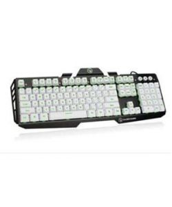 IOGEAR Kaliber Gaming HVER Aluminum Gaming Keyboard - Imperial White,