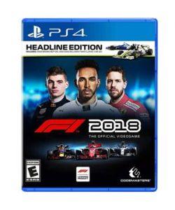 F1 2018 SE PS4 Launch