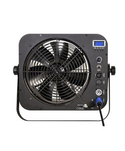 Mobile DMX fan machine, fan speed adjustmnet, PowerCon in & out.