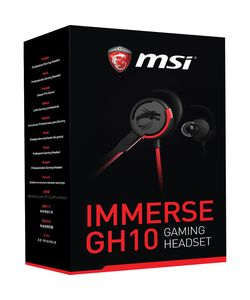 MSI Immerse GH10 Earset