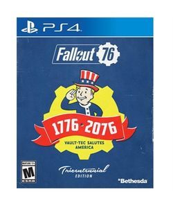 Fallout 76 Deluxe Ed PS4