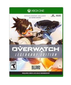 Overwatch Legendary Ed XBox On