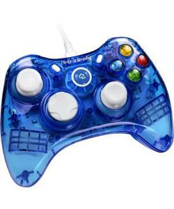 Rock Candy Wired Controller for PC - Blueberry Boom