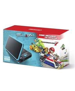 New Nintendo2DS XL BlkTurqMK7