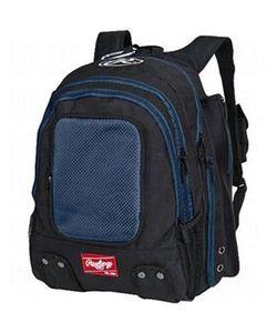 Rawlings Carrying Case (Backpack) Baseball Bat, Shoes - Navy