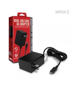 Dual Voltage AC Adapter for Switch Console and Dock - Armor3