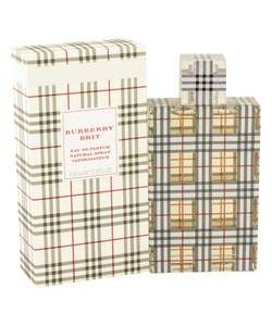 Burberry Brit Perfume 3.4 oz Eau De Parfum Spray