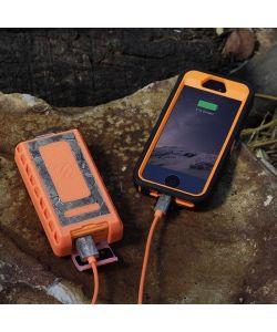 (2-Pack) Scosche Waterproof 6000mAh Portable Power Bank GoBat RPB6RT Rugged
