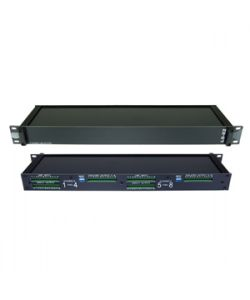 RAPCO LS82 8 Channel (2-Way) Rack Mount Line Splitter