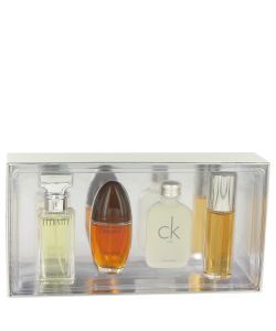 Gift Set - Mini Variety Gift Set Includes Eternity, Obsession Ck One, Escape,