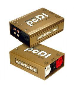 Whirlwind PCDI Direct Box with Dual RCA and 1/8 in. Inputs WW-PCDI