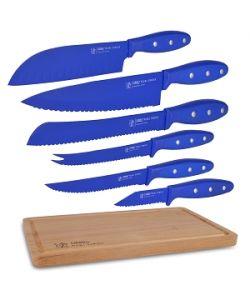 Ginsu Nuri Series 05809DS 6-Piece Cutlery Set (Blue)