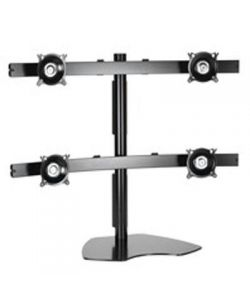 Chief KTP445B Widescreen Quad Monitor Table Stand