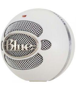 Blue Snowball USB Microphone - Textured White