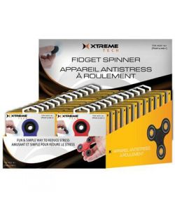 Xtreme Cables - 24pc Blk Ylw Rd Blue Spinners