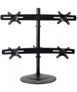 "Tripp Lite Quad Display TV Desk Mount Monitor Stand Swivel Tilt 10"" to 26"" Flat Screen Displays"