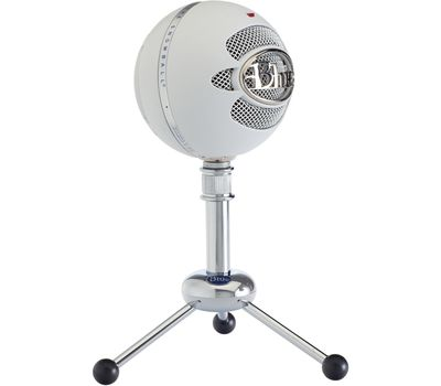 Blue Snowball USB Microphone - Textured White55
