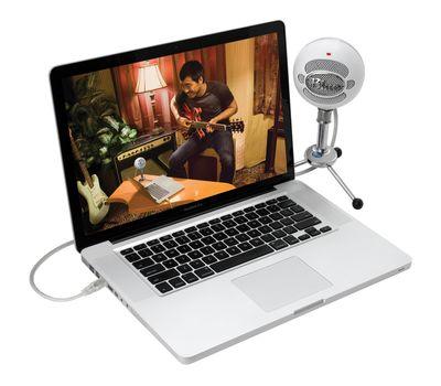 Blue Snowball USB Microphone - Textured White22