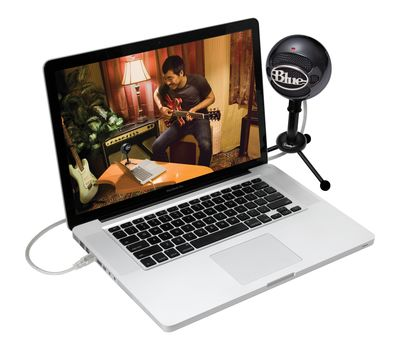 Blue Snowball USB Microphone - Gloss Black22
